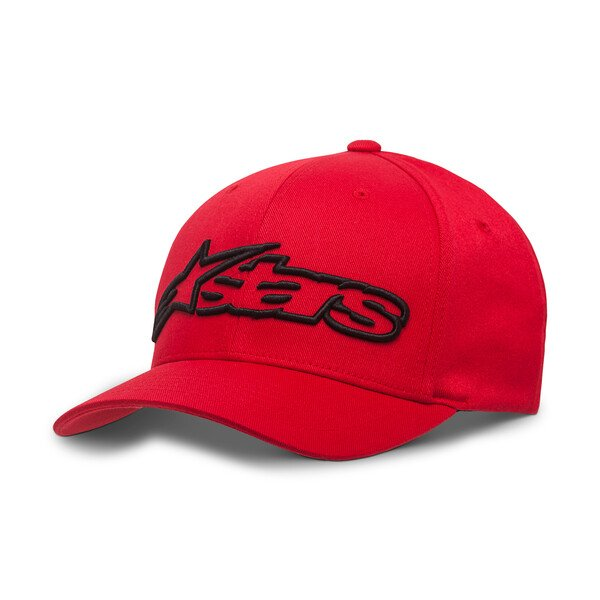 Alpinestars Blaze Flexfit Hat Red Black Size: S-M