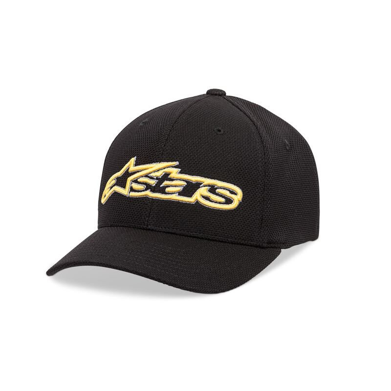 Alpinestars Blaze Mock Mesh Hat Black Gold Size: L-XL