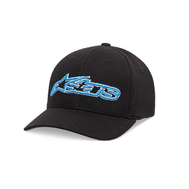 Alpinestars Blaze Mock Mesh Hat Black Blue Size: L-XL