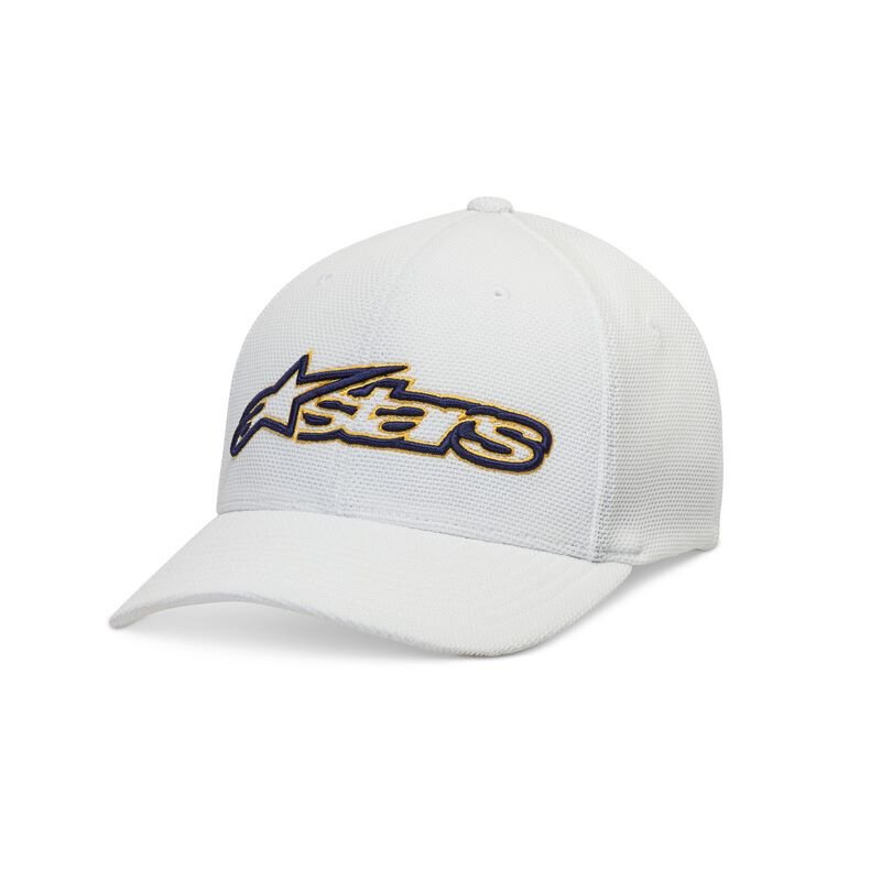 Alpinestars Blaze Mock Mesh Hat White Blue Size: L-XL