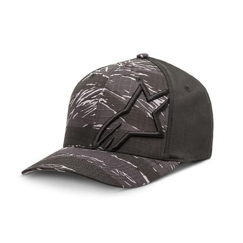 Alpinestars Corp Camo Hat Charcoal Size: L-XL
