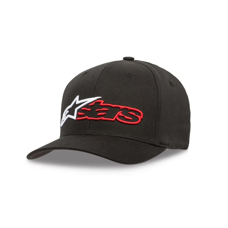 Alpinestars Reblaze Curve Hat Black Red Size: L-XL