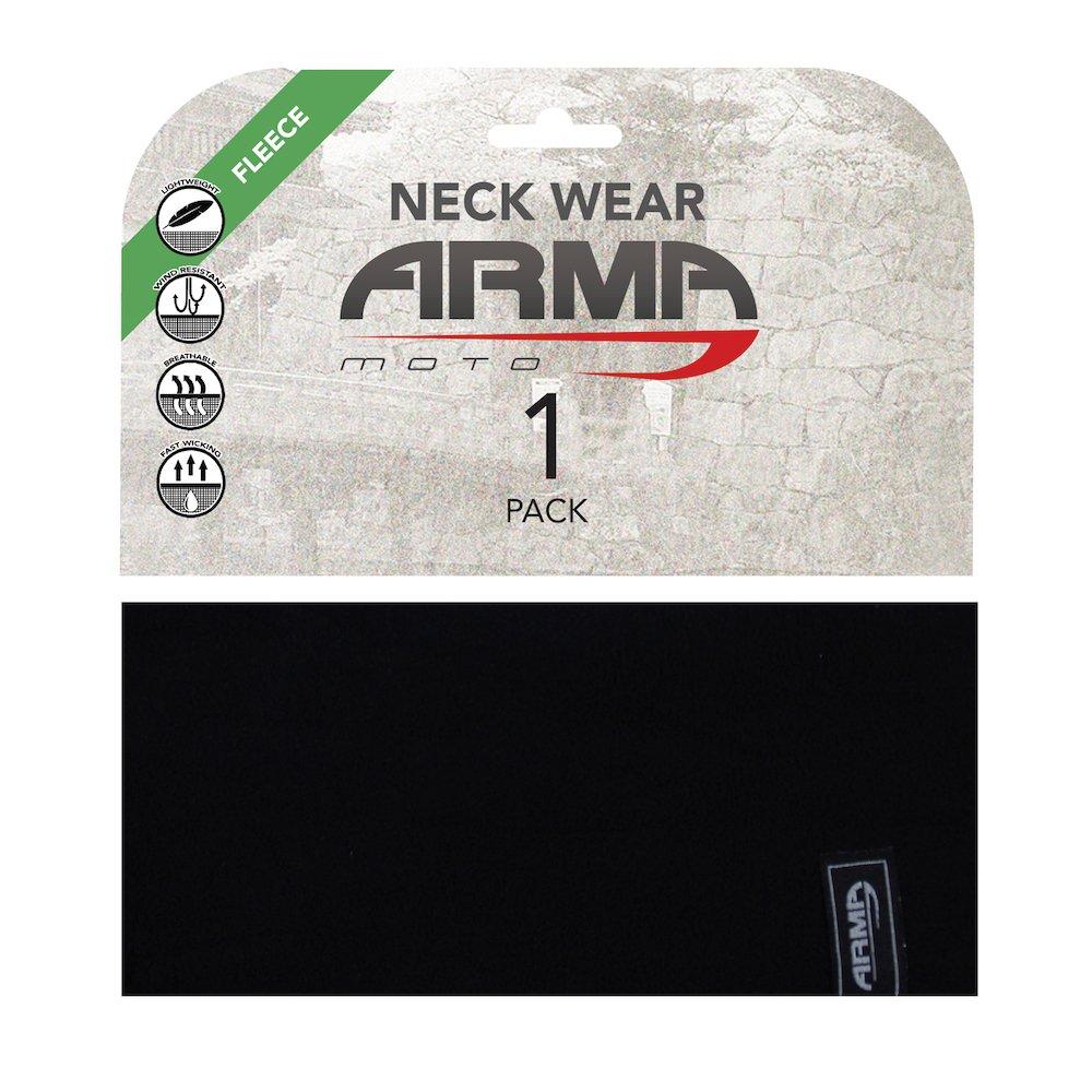 ARMR Seamless Winter Neck Tube Black Black