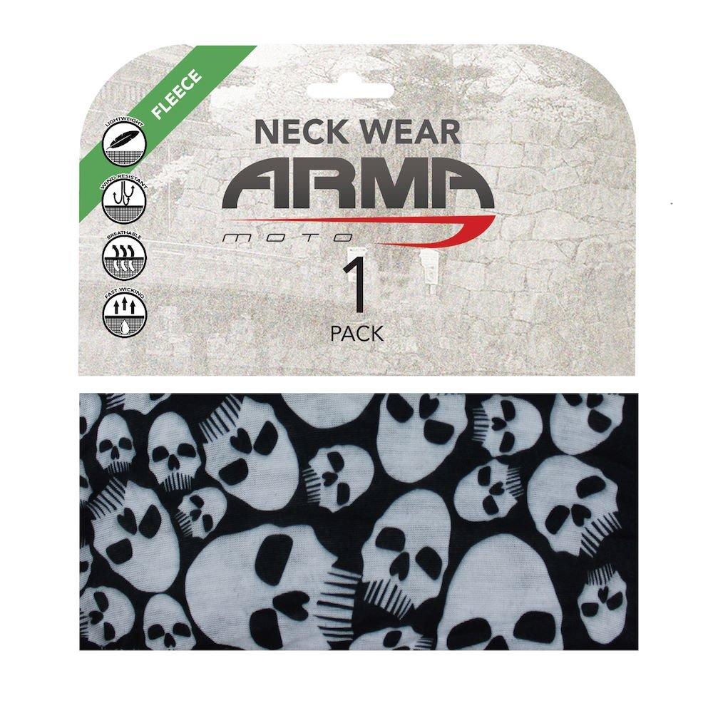 ARMR Seamless Winter Neck Tube Skulls Skulls