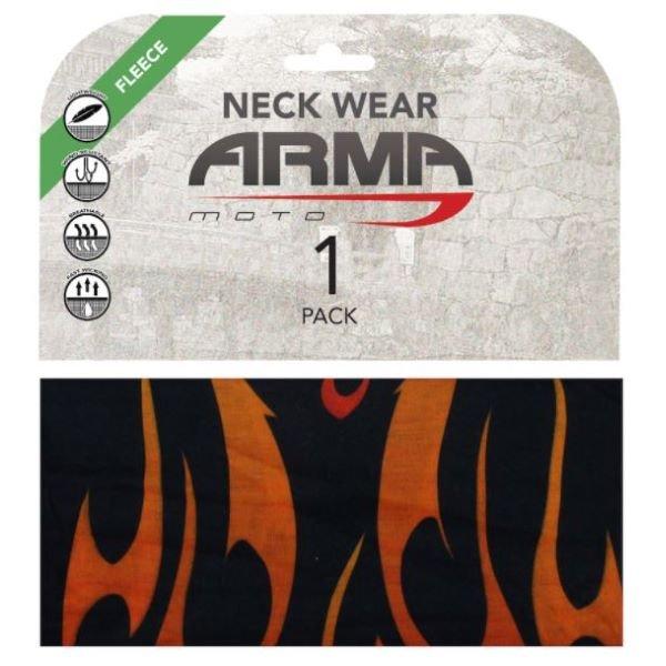 ARMR Seamless Winter Neck Tube Flame Flame