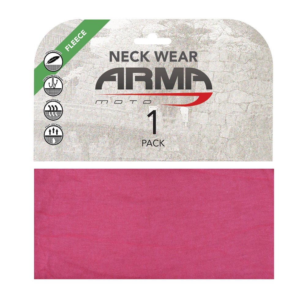 ARMR Seamless Winter Neck Tube Pink Pink