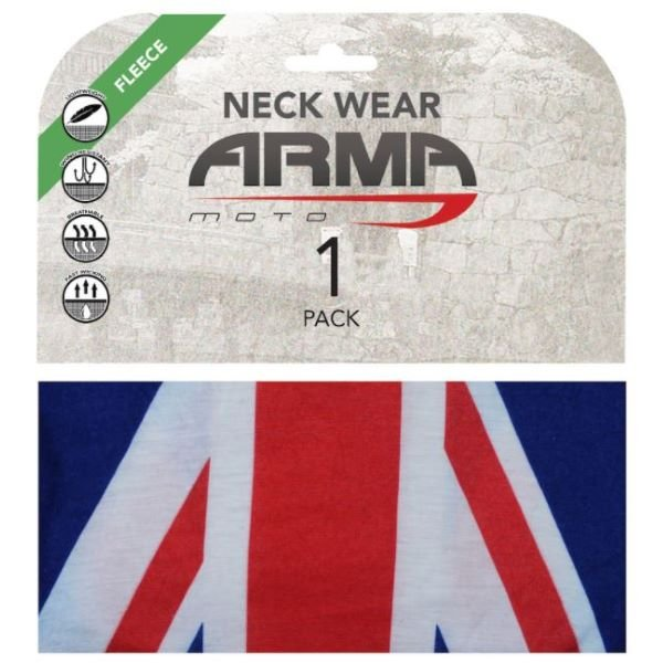 ARMR Seamless Winter Neck Tube Union Jack Union Jack