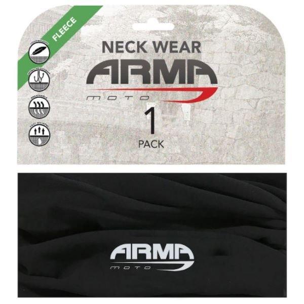 ARMR Fleece Neck Tube Black Black