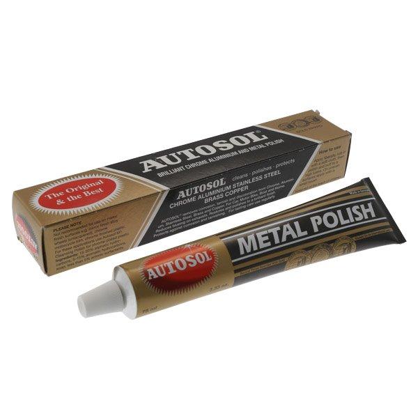 Lintek Autosol Chrome Metal Polish 100Gm Tube