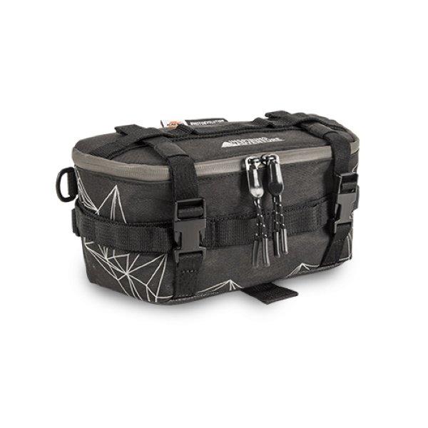 Kappa Black 3ltr Motorcycle Handlebar Mounted Bag