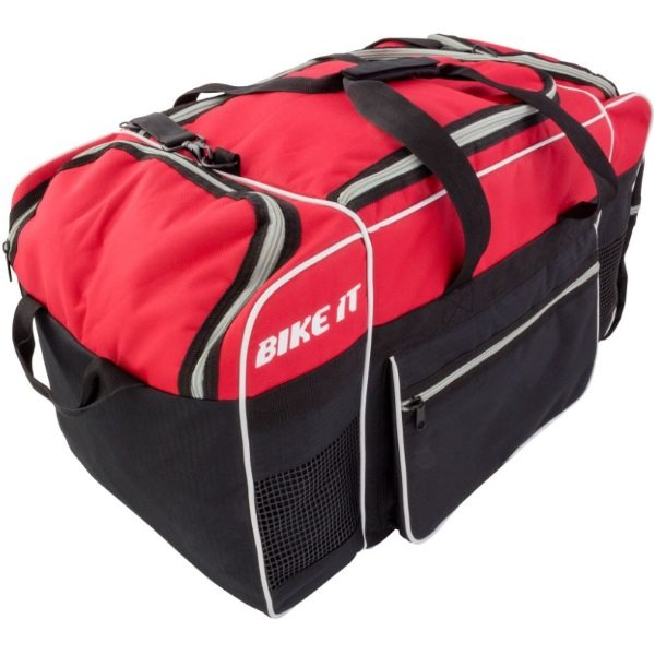 Medium Kit Bag Red Black Kit Bags