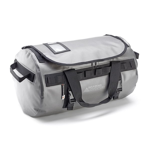 Water Resistant Tail Bag 45L Silver Roll Bags