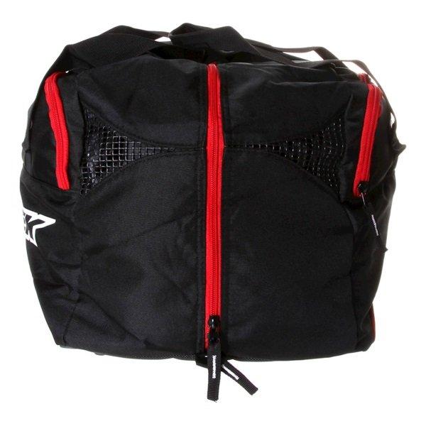 Biketek Black Motorcycle Helmet Kit Carrier Back