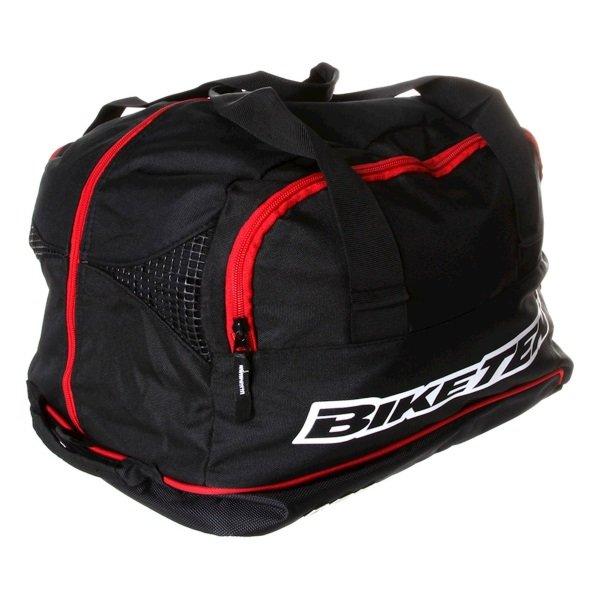 Biketek Black Motorcycle Helmet Kit Carrier Side