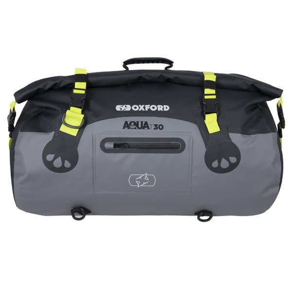 Aqua T-30 Roll Bag Black Grey Fluo Roll Bags