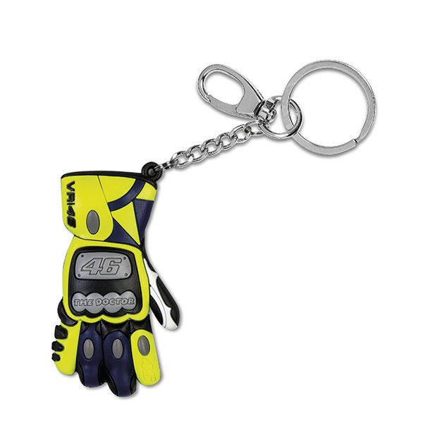 VR46 3D Glove Key Ring