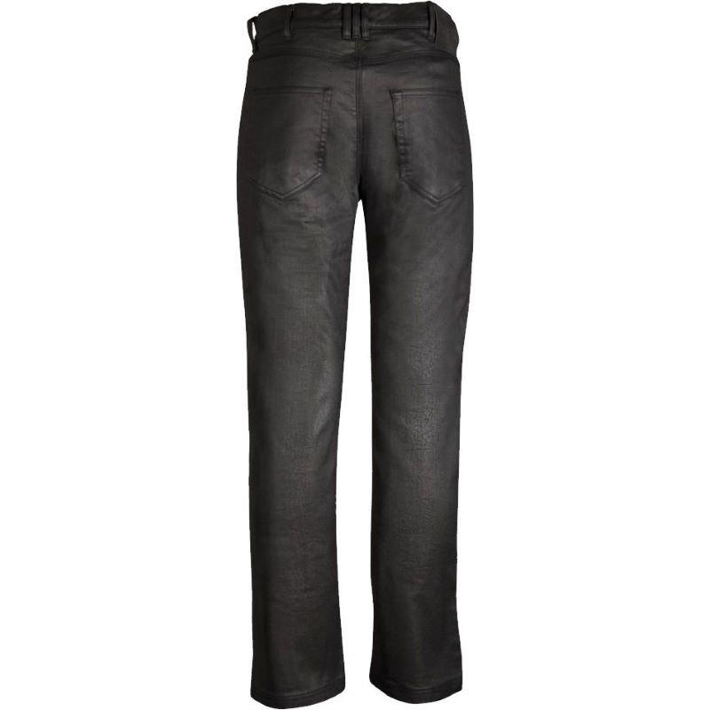 Bull-It SR6 Oilskin Straight Jeans Black Size: Mens UK - 32