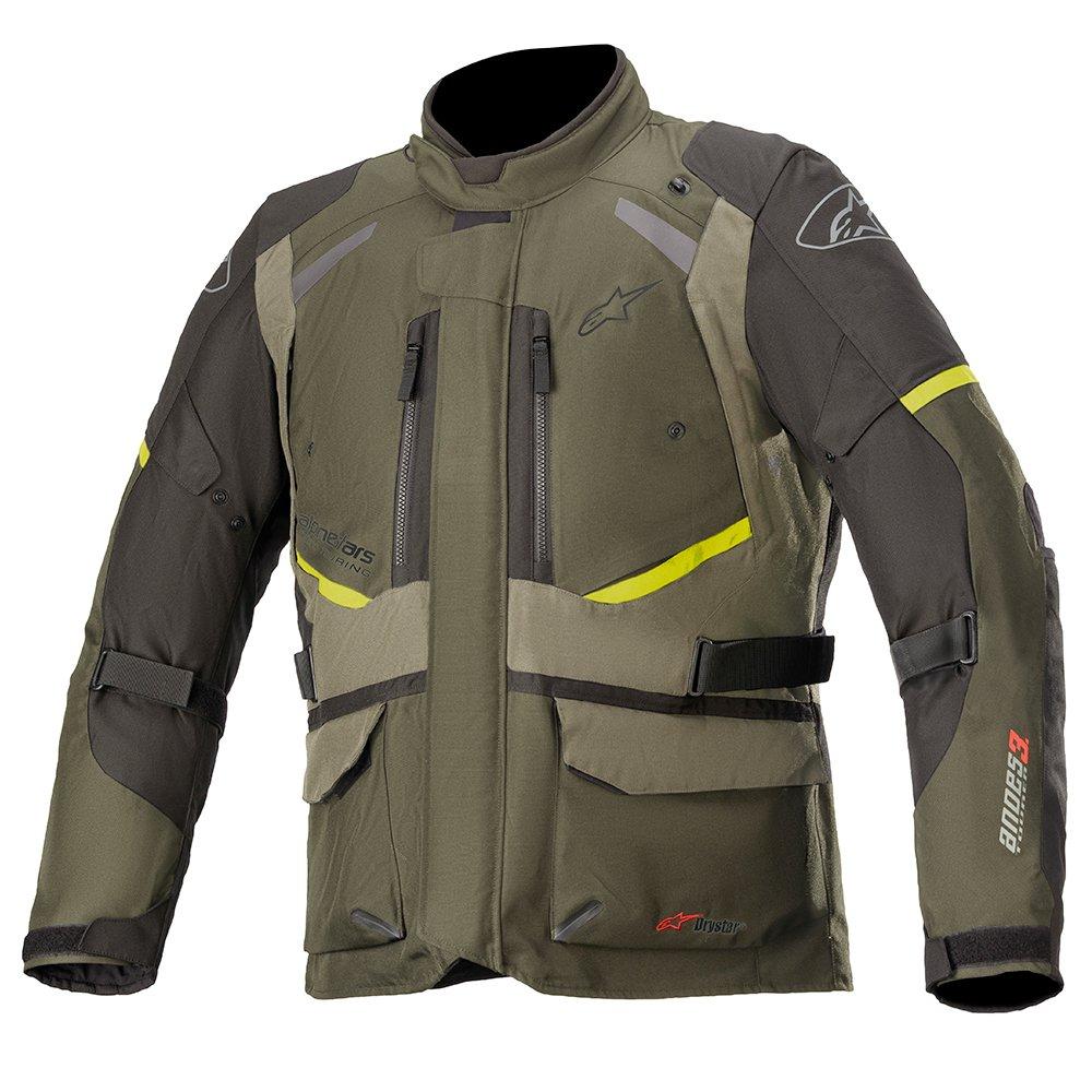 Alpinestars Andes V3 Drystar Jacket Forest Military Green Size: Mens UK - S
