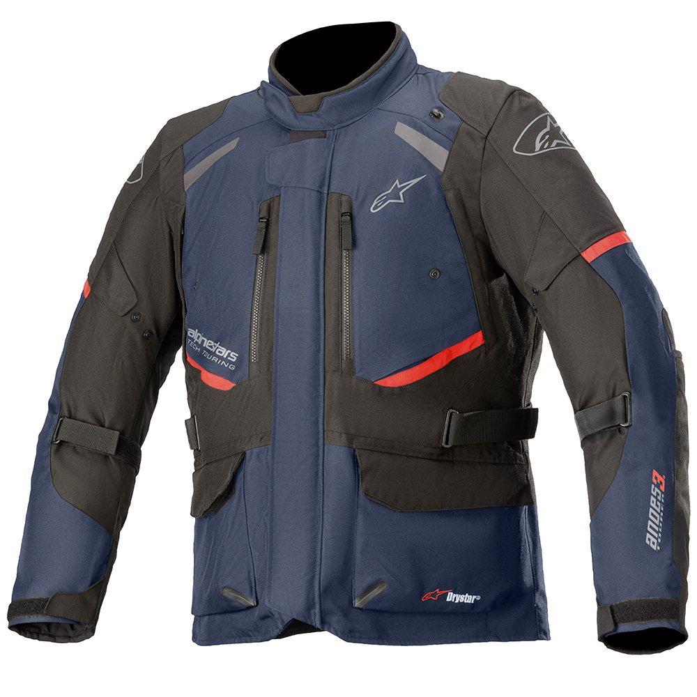 Alpinestars Andes V3 Drystar Jacket Dark Blue Black Size: Mens UK - S
