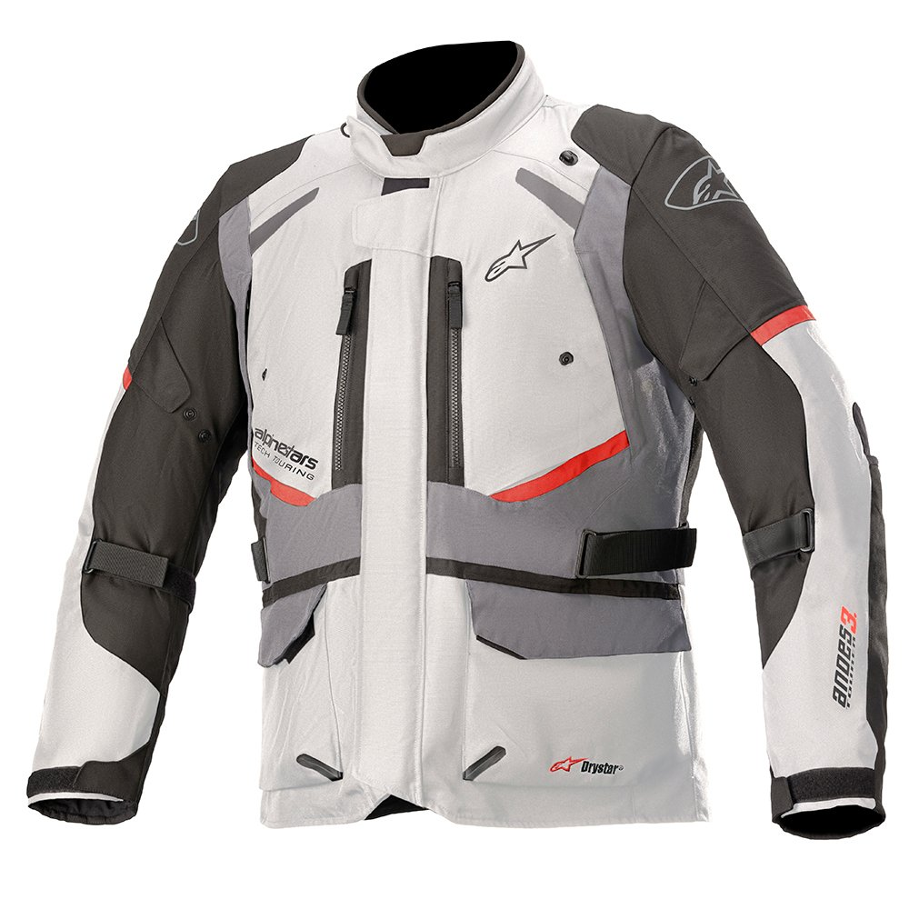 Alpinestars Andes V3 Drystar Jacket Ice Grey Dark Grey Size: Mens UK - S
