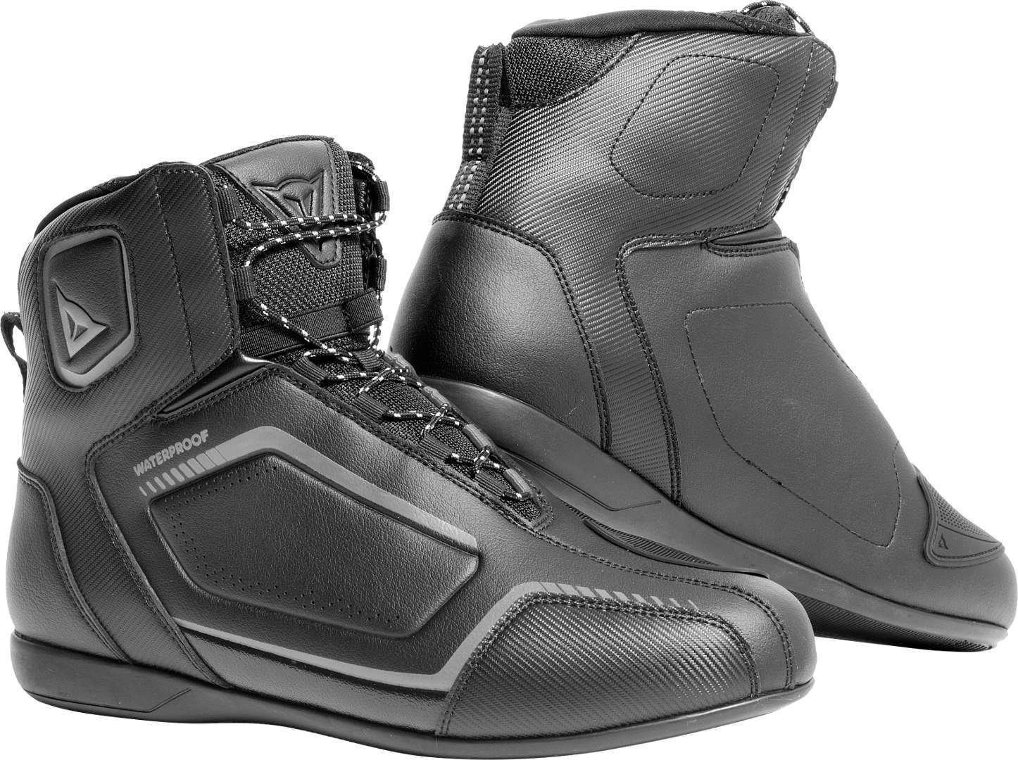Raptors Lady D-WP Shoes Black Black Anthracite Dainese