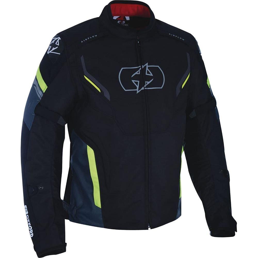 Melbourne 3 MS Short Jacket Black Fluo