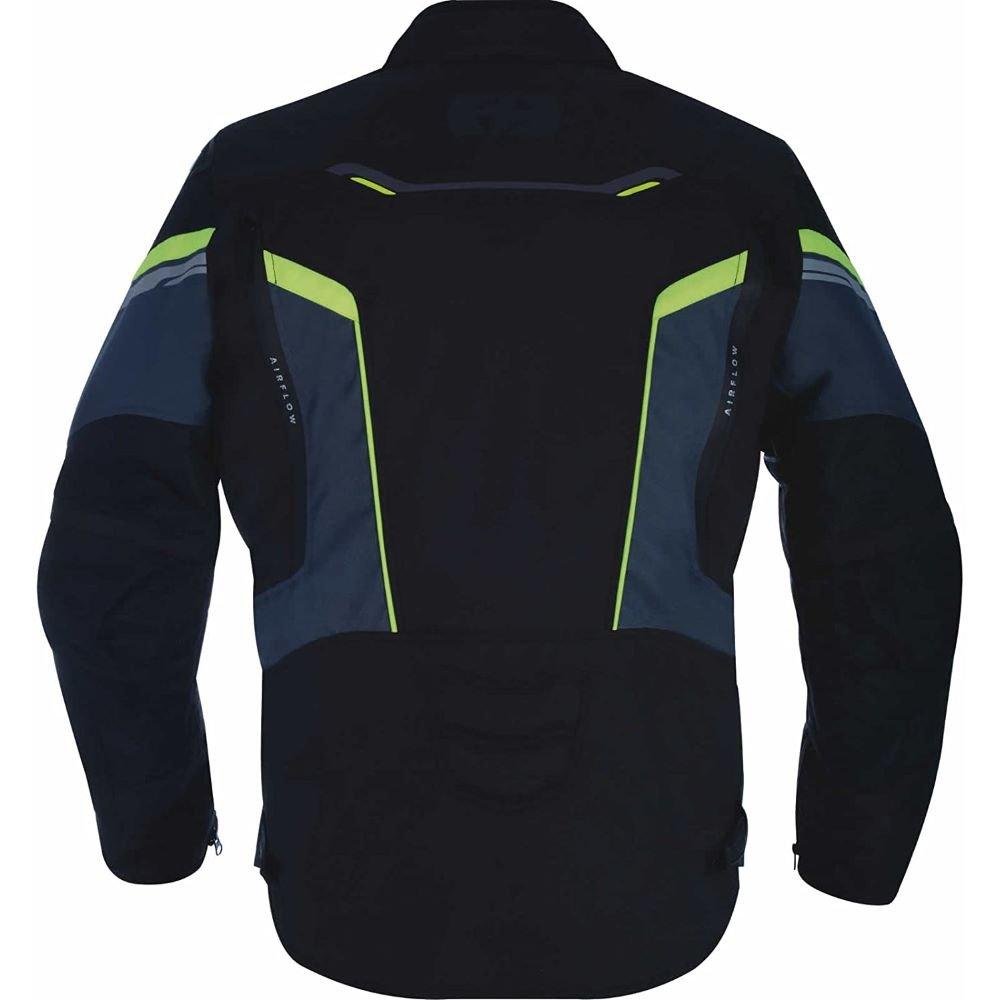 Oxford Products Melbourne 3 MS Short Jacket Black Fluo Size: Mens UK - S
