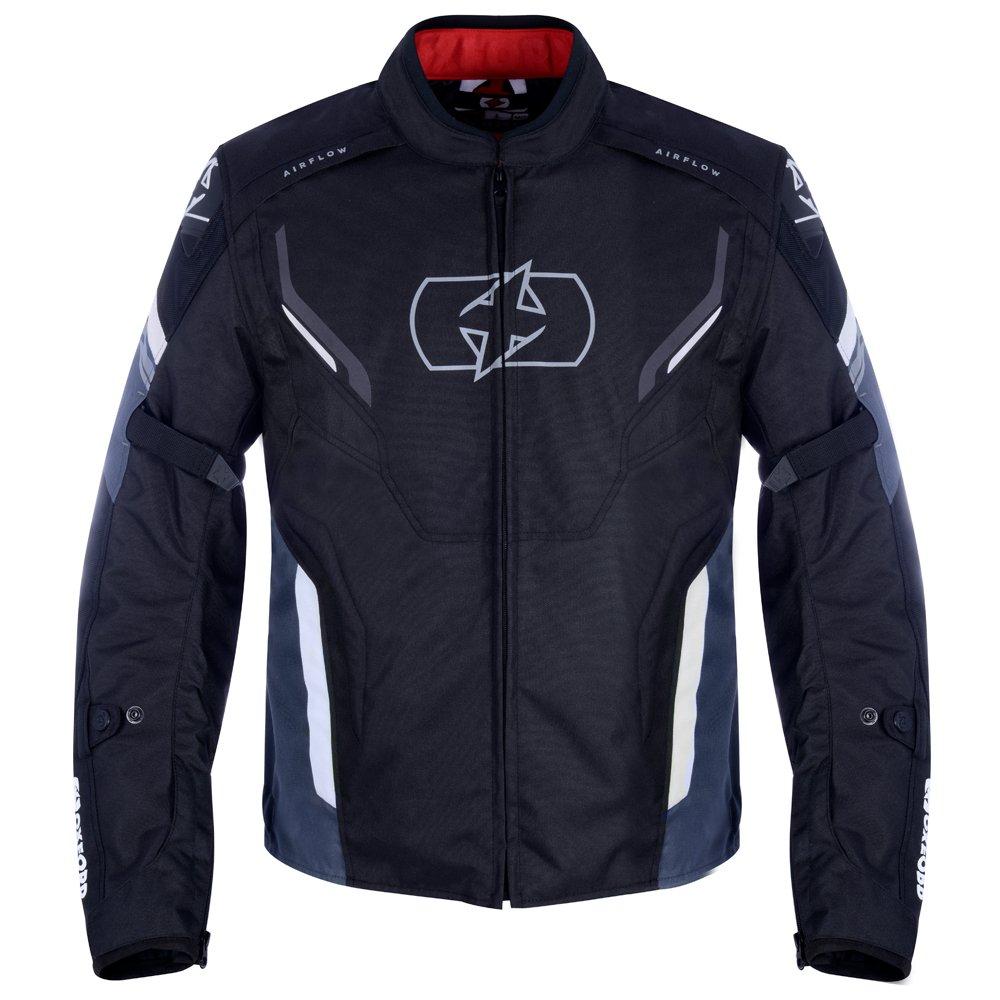 Melbourne 3 MS Short Jacket Black White