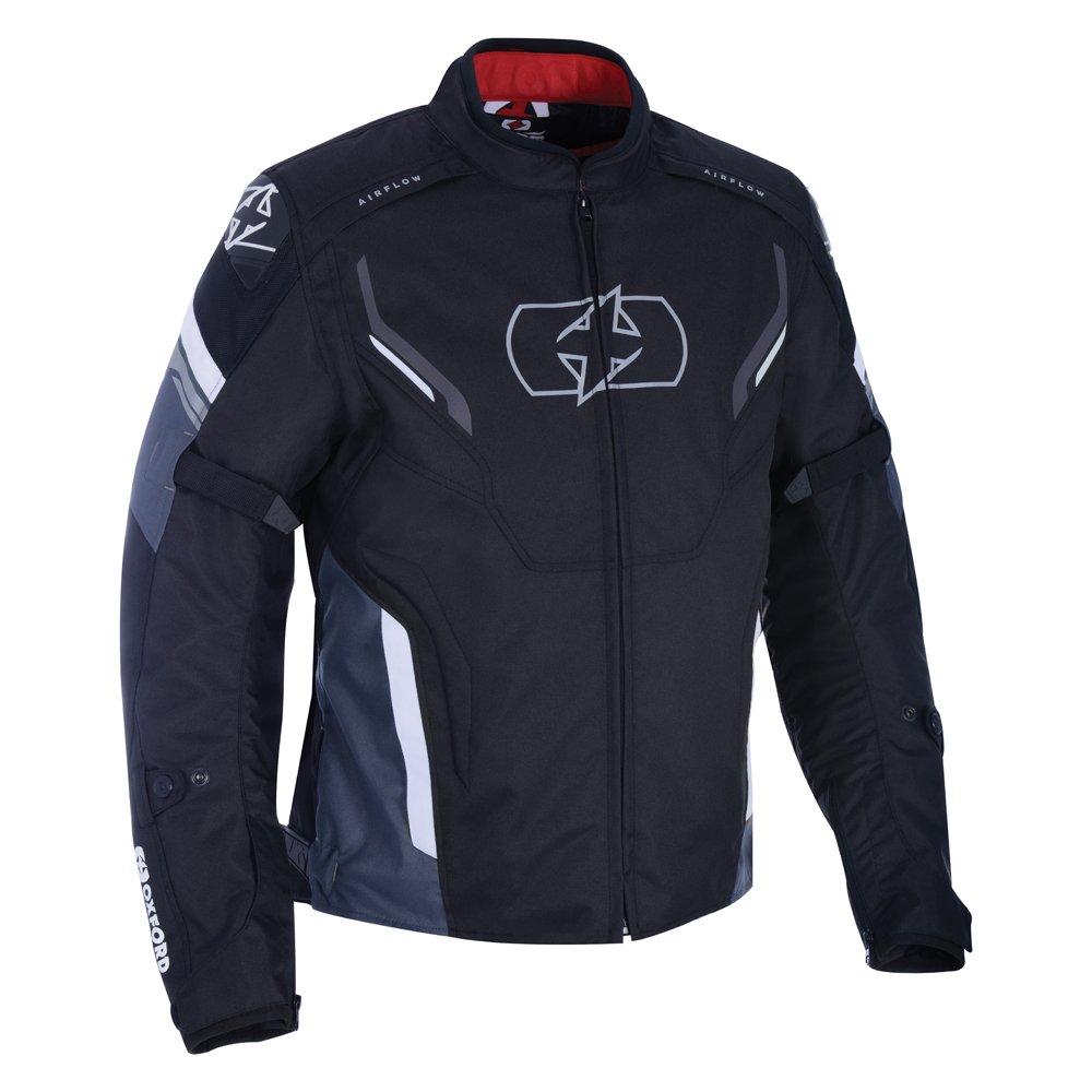 Oxford Products Melbourne 3 MS Short Jacket Black White Size: Mens UK - S
