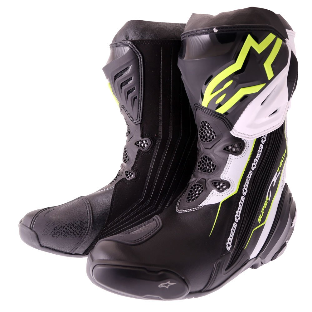 Supertech R Boots Black Yellow Fluo White