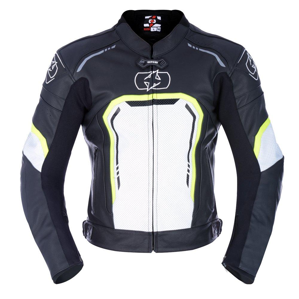 Strada MS Sports Jacket Black White Fluo