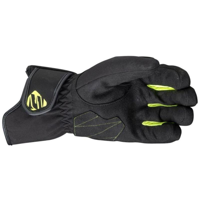 Five WFX3 Waterproof Gloves Black Flo Yellow Size: Mens - XL