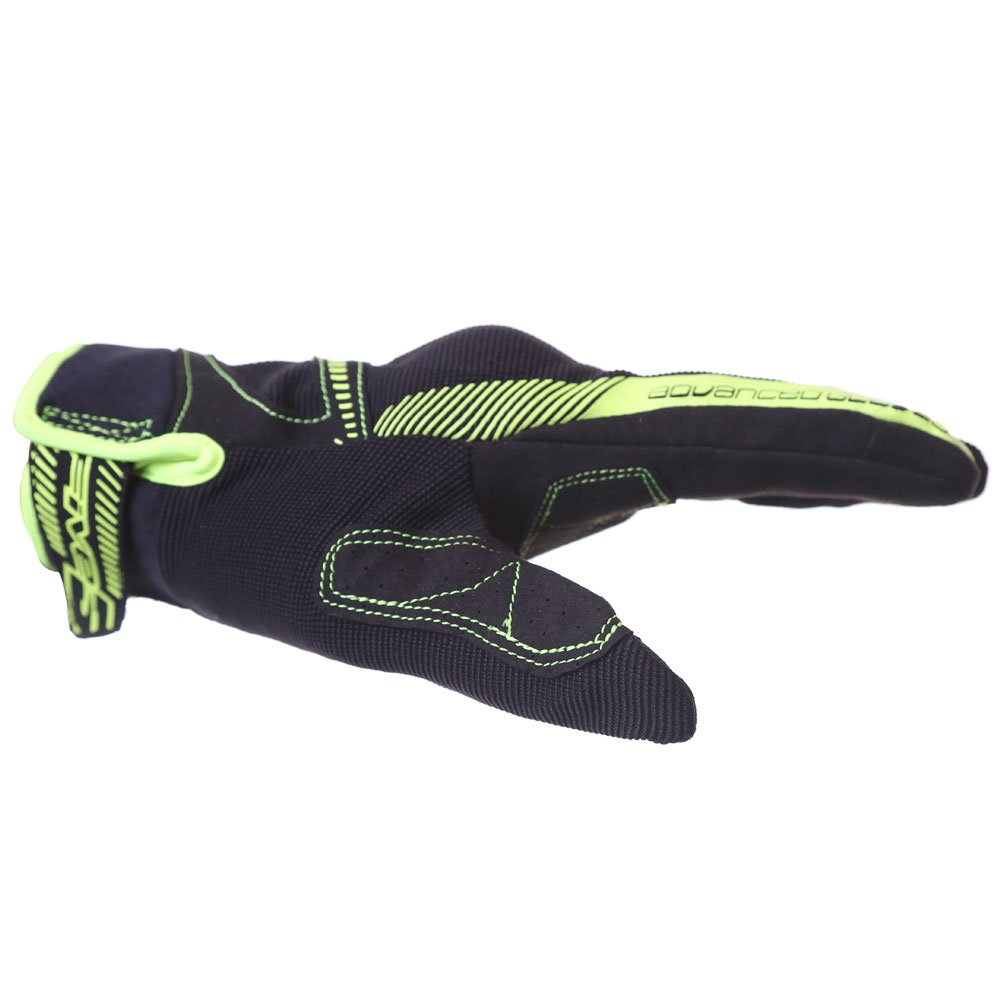Five RS3 Gloves Black Flo Yellow Size: Mens - M