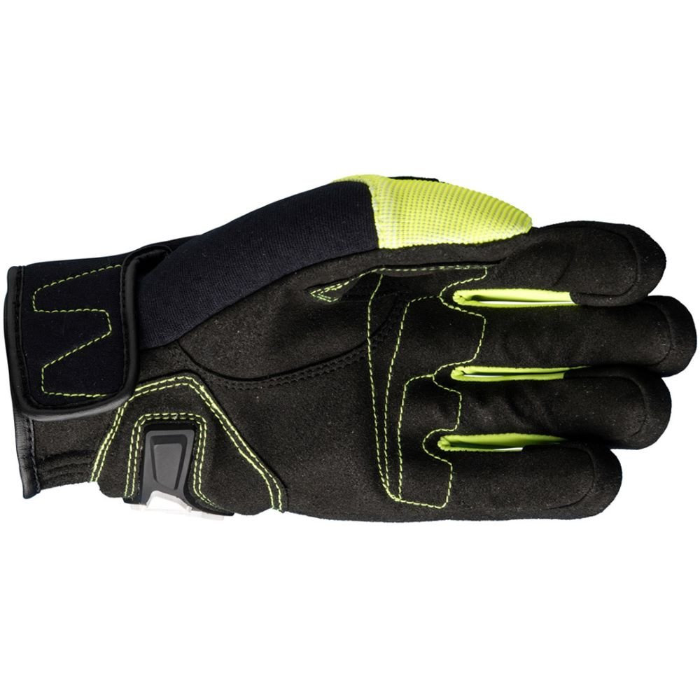 Five RS4 Gloves Black Flo Yellow Size: Mens - S