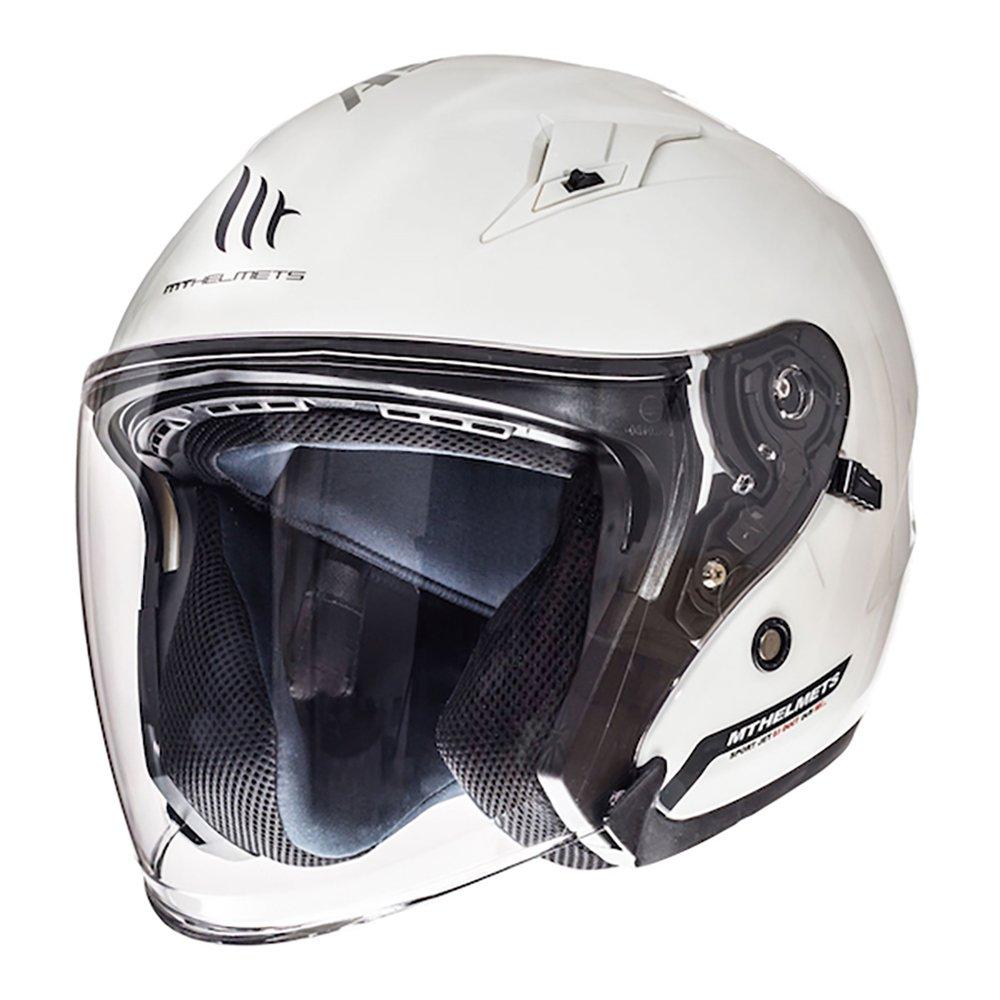 Avenue Helmet White Motorcycle Helmets