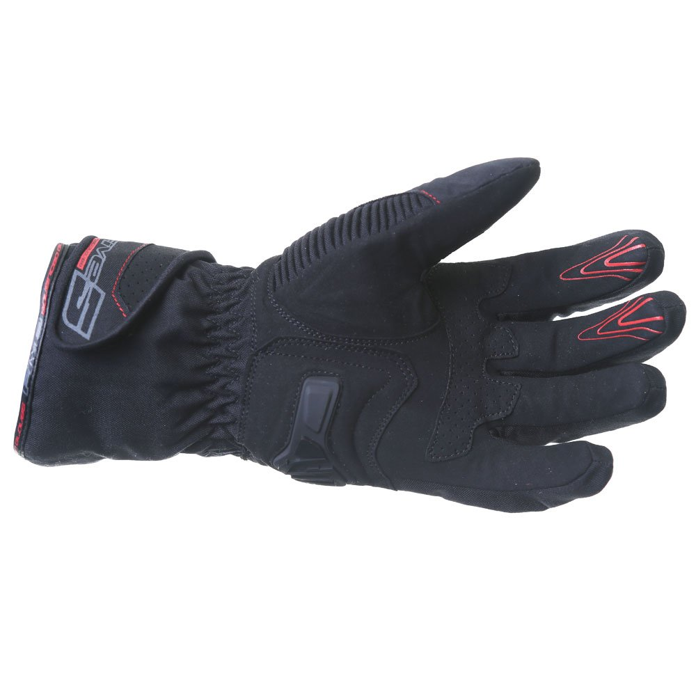 Five WFX2 WP Gloves Black Red Size: Mens - XS