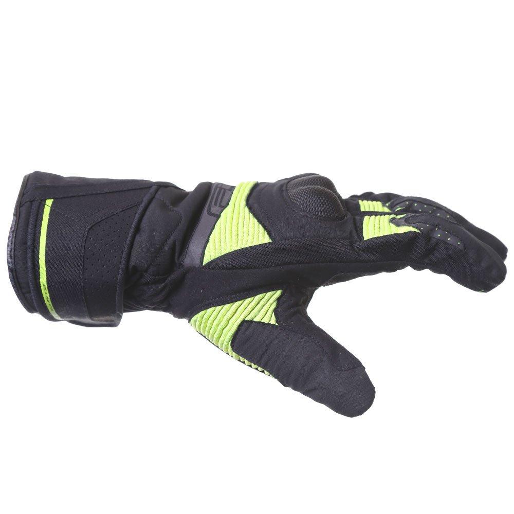 Five WFX2 WP Gloves Black Flo Yellow Size: Mens - XS