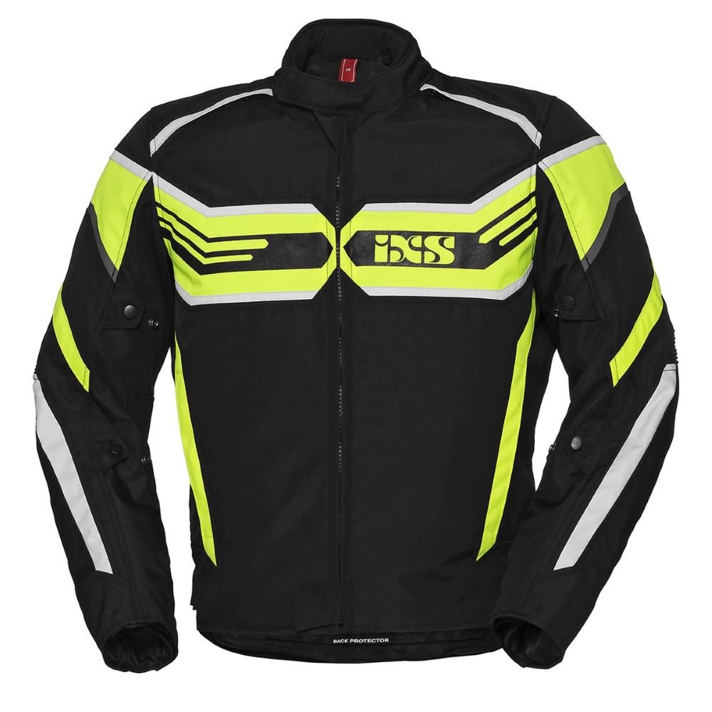 RS-400-ST Sport Jacket Black Fluo Yellow White