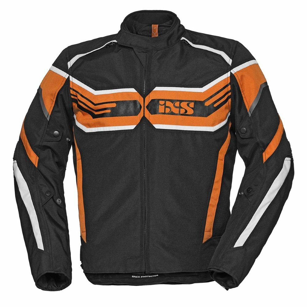 RS-400-ST Sport Jacket Black Orange White