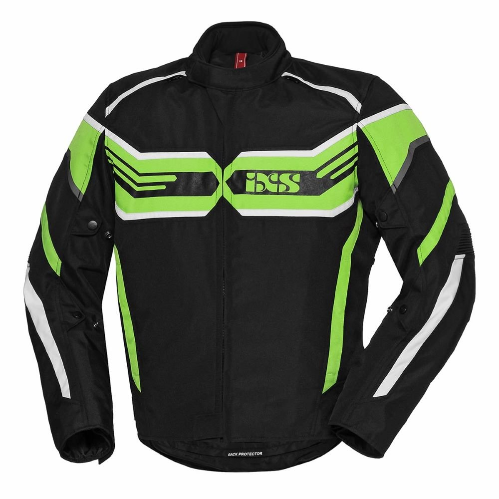 RS-400-ST Sport Jacket Black Green White