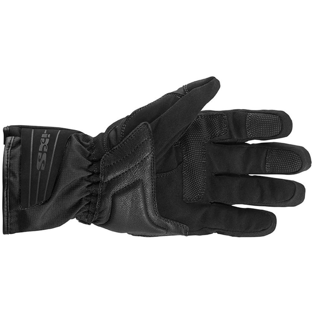 IXS Balin Gloves Black Size: Mens - M