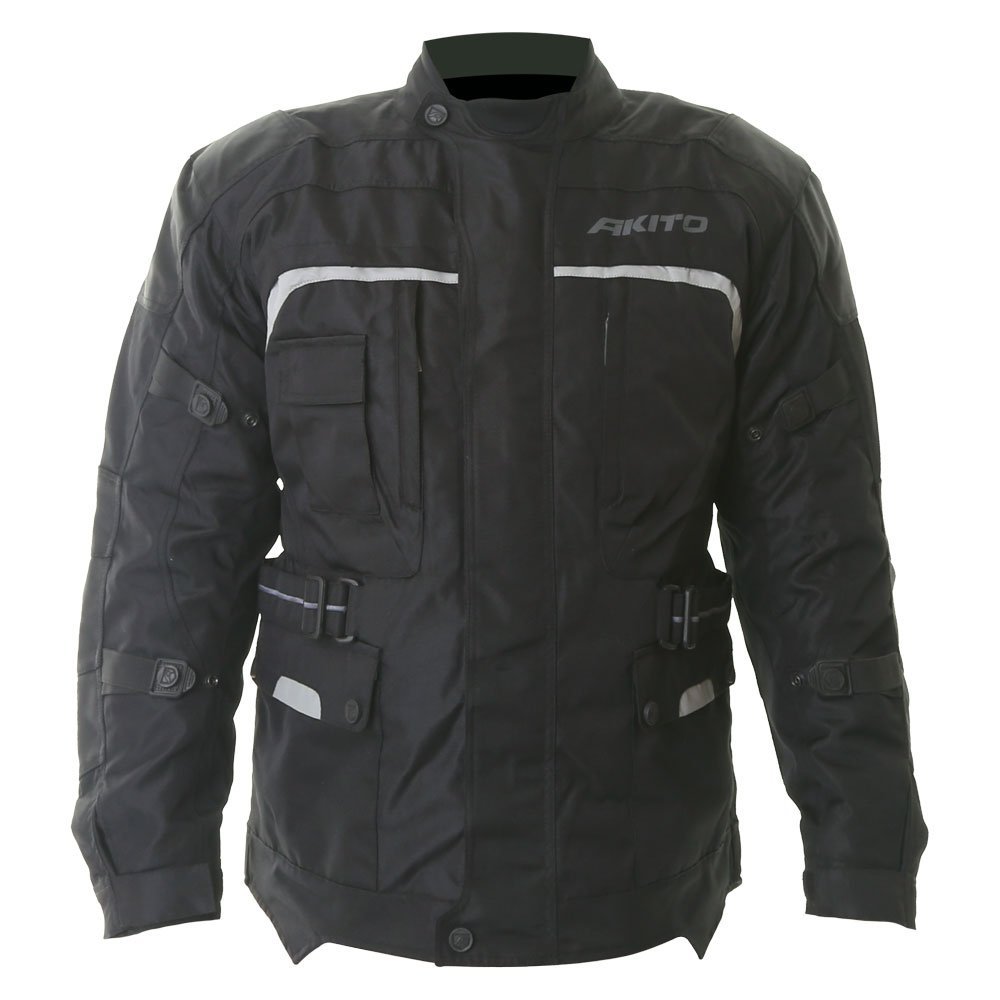 Akito Typhoon Jacket Black Size: Mens UK - S