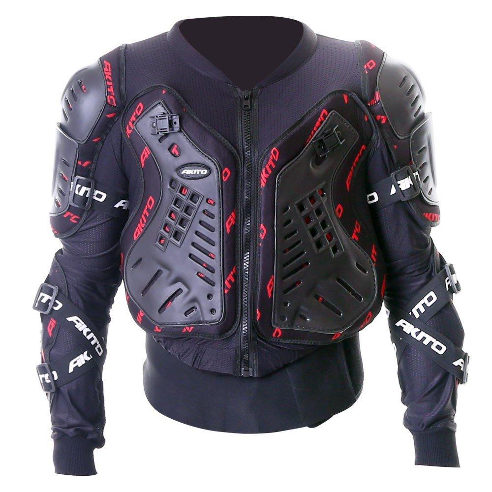 Akito Terra Body Armour Black Red Size: S