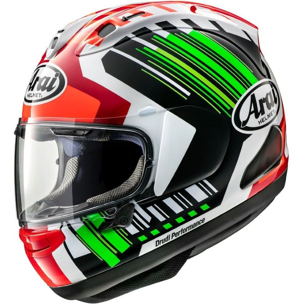 RX-7V Helmet Rea Green