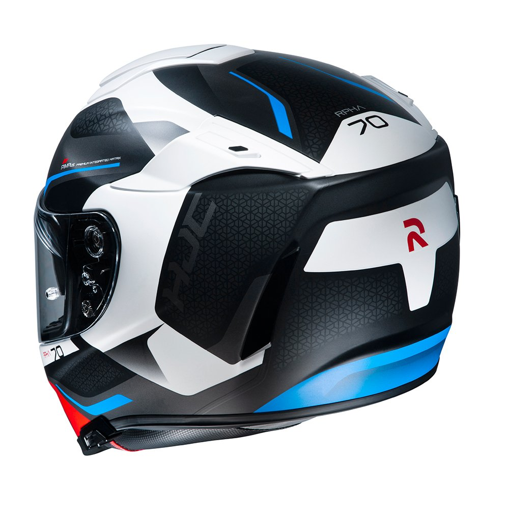 HJC RPHA 70 Kosis Helmet Red White Blue Size: XS