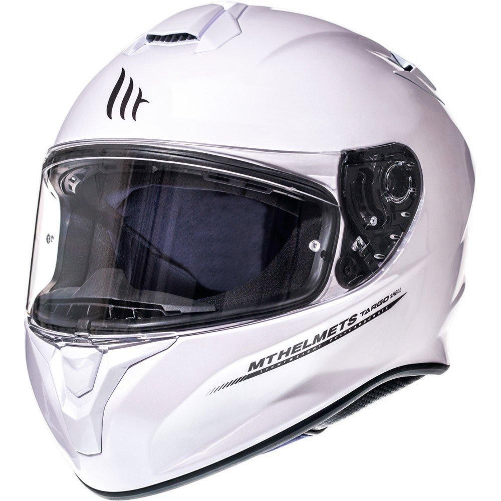 Targo Helmet Pearl White MT Helmets