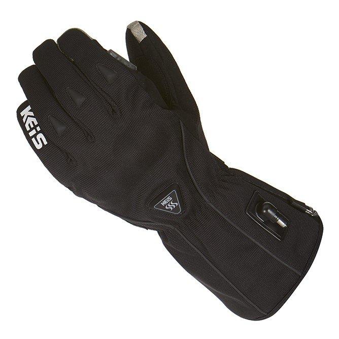 G701 Premium Heated Glove Black Clothing
