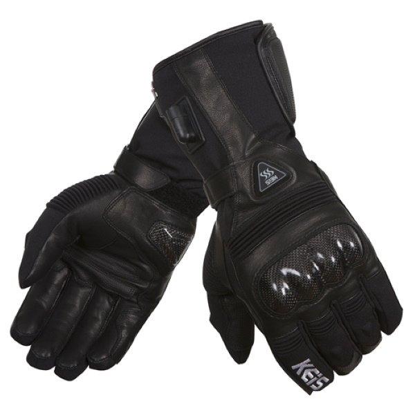G502 Premium Heated Glove Black Clothing