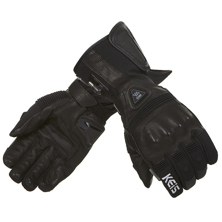 G601 Premium Heated Glove Black Clothing