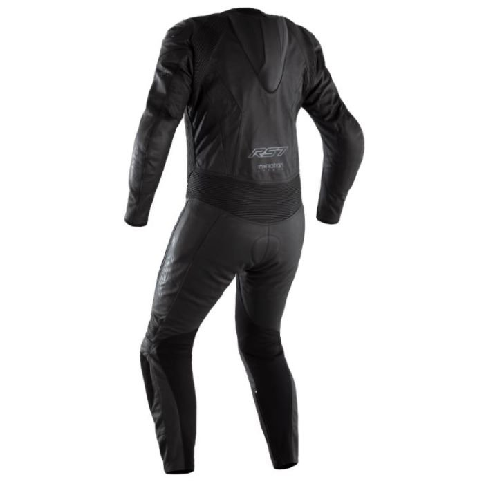 RST Podium Airbag CE Suit Black Size: Mens UK - 38
